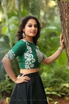Check Out Exclusive Photos of Heroine Pooja Ramachandran in Long Skirt   Tollywood actress images
