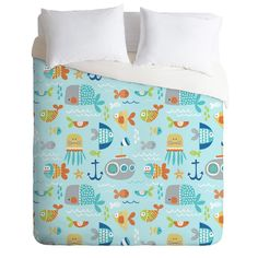 Rosenberry Rooms has everything imaginable for your child's room! Share the news and get $20 Off  your purchase! (*Minimum purchase required.) Sealife Lightweight Duvet Cover