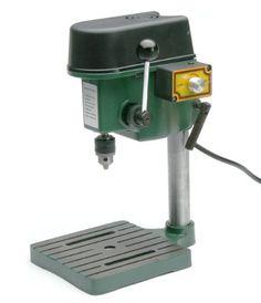 "TruePower 1/4"" Mini Drill Press with 3 Range Variable Speed Control 0-8500 Rpm TruePower http://www.amazon.com/dp/B00A8NFR20/ref=cm_sw_r_pi_dp_aSS2tb1WKJJD2AAY"