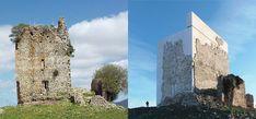 Restauração da Torre Medieval de Cádiz: Atentado ou preservação do patrimônio?,Antes e depois. Imagem via Leandro Cabello | Carquero Arquitectura