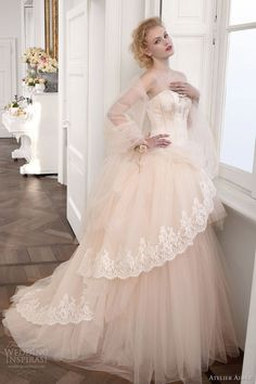 atelier aimee wedding dresses 2013 strapless ball gown
