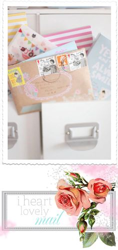 "mail- create special ""Shirley St. Stamps"""