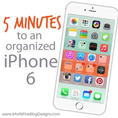 4 Easy steps to organize your iPhone in 5 minutes! Your iPhone 6 home screen… Iphone 6 Home Screen, Apps, Mac Tips, Smartphone, Iphone Hacks, Iphone App, Technology Gadgets, Apple Products, Getting Organized