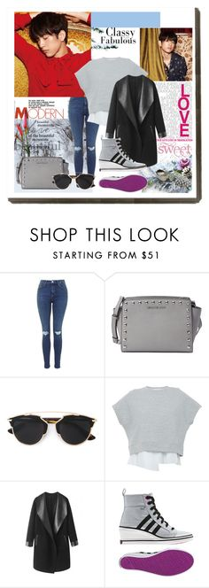 """"""".177"""" by i-love-louis-thetommo-tomlinson on Polyvore featuring MICHAEL Michael Kors, Christian Dior, 10 Crosby Derek Lam, Columbia and adidas"""
