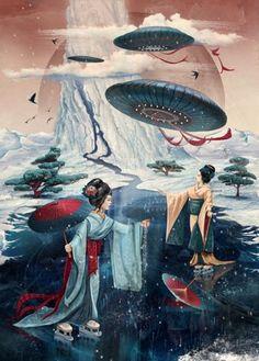 China vs. the UFOS
