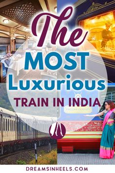 "The Most Luxurious Train in India, The Deccan Odyssey – 8 days living lavishly on a royal train My first time visiting India couldn't have been more grand, for I've experienced the true meaning of ""traveling in style!"" When I first got invited to. India Travel Guide, Asia Travel, Japan Travel, Travel Abroad, New Delhi, Travel Guides, Travel Tips, Travel Books, Travel Destinations"