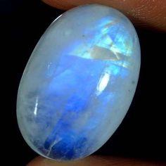 Natural Rainbow Moonstone Sparkling Cab Gemstone Oval Cabochon 23.35Cts Srilanka #Qualitygems2014