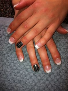 Charcoal with silver studs