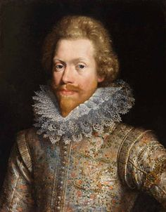 Portrait of a Dutch Courtier, JAN ANTHONISZ VAN RAVESTEYN (circa 1572 - 1657)