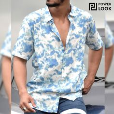"""Streetwear themes are exciting, but nothing's """"Tie-Dye Shirt on a Saturday"""" exciting 😍 💦 ⚡️Shop the Shirt (SKU: 02-527320) ⚡️⠀ ⠀⠀⠀⠀⠀ ⠀⠀⠀⠀⠀⠀ 💲Discounted Price: ₹8̶9̶9̶ ₹599💲 #Powerlook #Shirt #PowerlookShirt #StreetFashion #StreetWear #MensFashion #OOTD #HipHopFashion #OuterWear #Shirts #ShirtStyle #ShirtsForMen #StreetFashionStyle #StreetFashions #StreetFashionMen #HighStreetFashion #StreetwearFashion #StreetWearAddcited #MensShirts Hip Hop Fashion, Mens Fashion, Blue Tie Dye, Streetwear Fashion, Printed Shirts, Shirt Style, Street Wear, Men Casual, Street Style"""