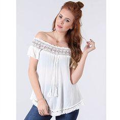 Blusa Ciganinha Feminina Facinelli - Branco