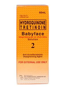 RDL Babyface Exfoliant No. 2 - Anti Ance Depigmenting Agent Large Size) for sale online Health And Beauty, Usa, U.s. States, America