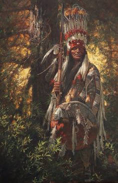 'Bear Chief' by Don Oelze