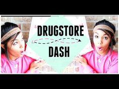 DRUGSTORE DASH| 2015 - YouTube