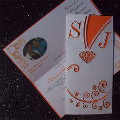 Ref Samira ( We can do any colour) www.weddingcards.co.za