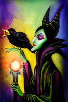 My fave Disney villian: Maleficent Walt Disney, Evil Disney, Disney Maleficent, Disney Fun, Disney Magic, Disney Pixar, Disney Stuff, Disney Villains Art, Disney Movies