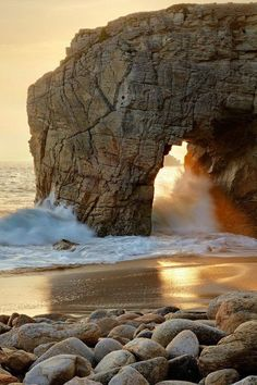 Quiberon Peninsula Southern Brittany Region in France