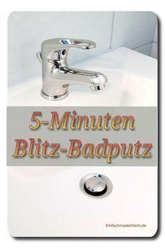 Vielleicht kennt der eine oder andere das: Der Bad- oder Gäste-WC-Putz steht (schon längst wieder *hüstel*) an und bevor er Realität wird, hat man Besucher im Haus. Nun kann man natürlich hoffen, d…