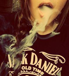 Smoke and jack Daniels