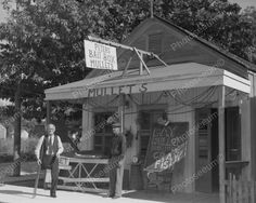Peters Bait Box Mullet Shop 8x10 Reprint Of Old Photo