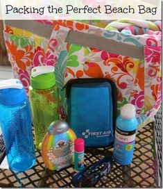 Its summer time! Packing The Perfect Beach Bag for kids. Helpful summer tips. Packing List Beach, Vacation Packing, Packing Lists, Vacation Ideas, Vacation Packages, Beach Fun, Beach Trip, Beach Vacations, Family Vacations