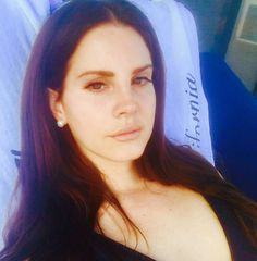 "New selfie! Lana Del Rey on Instagram: ""Strawberry Moon for my birthday   ""…"