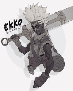 Late night Sketch – Ekko from league of legends #ekko #leagueoflegends #riotgames #sketch #sketchoftheday #digitalart #mefcc2016 #pyroow #characterdesign #drawing #art