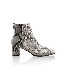 You can't beat snakeskin for adding texture and fun to any outfit.  Love these Russell & Bromley ankle boots