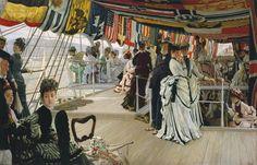 James TissotThe Ball on Shipboard c.1874