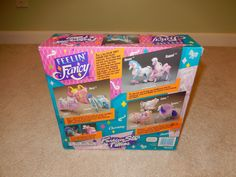 Fashion Star Fillies Feelin' Fancy Collection Jasmine new in box, box back, by Kenner, seller shannonmtr8uuu.  #mlpmib.com #fashionstarfillies #fsfjasmine #feelinfancyfashionstarfillies
