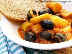 Reteta Mancare de praz cu masline din categoriile Mancaruri cu legume si zarzavaturi, Retete vegetariene