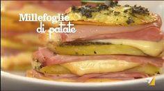 Patate al forno con Scamorza e Prosciutto - La7.it | LA7 - Video e notizie su programmi TV, sport, politica e spettacolo