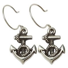 Little Anchor Earrings now featured on Fab.