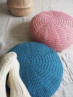 Virkattu rahi Novita Eco Tube   Novita knits