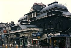 London Broad Street station exterior 1985 by jhazan99, via Flickr East End London, North London, Vintage London, Old London, Old Train Station, Bethnal Green, Liverpool Street, London Architecture, London History