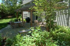 Dover Pergola Garden traditional patio