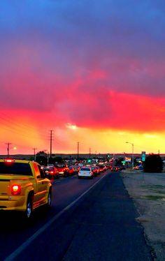 Sunsets in Albuquerque