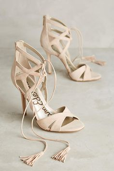 at anthropologie Azela Heels Summer Accessories, Fashion Accessories, Shoe Boots, Shoes Heels, Nude Sandals, Summer Boots, Summer Sandals, Christian Louboutin, Prom Heels