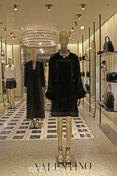 We are proud to see Valentino displaying Schlappi mannequins by Bonaveri from DK Display Corp in their #NYC location. see more at www.dkdisplaycorp.com photo provided by WindowsWear