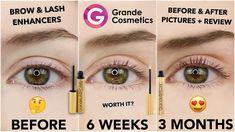 Lash Serum Reviews, Grande Lash Serum, Cheap Subscription Boxes, Lash Enhancers, Grande Cosmetics, Beauty Box Subscriptions, Eyelash Growth, Eye Make Up, Eyelashes