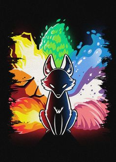 Naruto Show, Naruto Art, Cute Pokemon Wallpaper, Naruto Wallpaper, Nine Tailed Fox Naruto, Fox Tattoo Design, Paper Birds, Fox Art, Furry Art