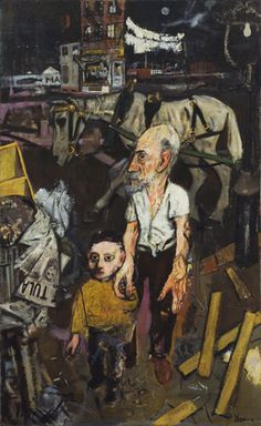 1941, The Passing Scene, Jack Levine (American, 1915–2010), Social Realism, MoMA NYC