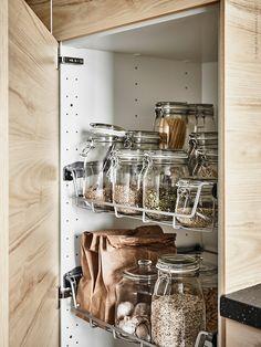 A cool scandi Ikea kitchen - Daily Dream Decor