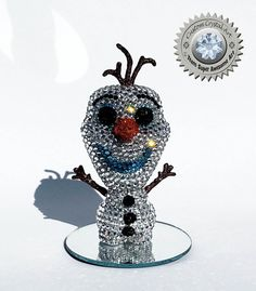 Custom Crystal Olaf Funko Pop Frozen by TeamSuperAwesomeArt