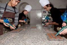Musée Gourmand du Chocolat – Chocostory/ Chocostory - The Gourmet Museum of Chocolate _ Ateliers adultes _ Adults' workshops_ Photo © David Grimbert
