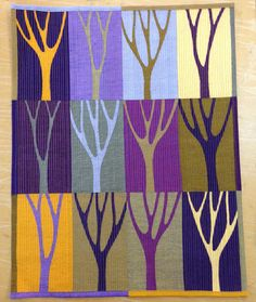 Wendy's quilts and more: Mini Tree Quilt