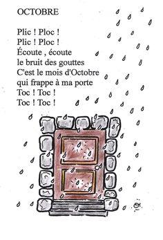 comptine octobre 2