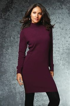 Buy Roll Neck Dress from the Next UK online shop Roll Neck Dress, High Neck Dress, Winter Warmers, Ladies Dress Design, Stay Warm, Work Wear, Evening Dresses, Your Style, Party Dress