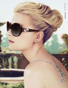 0ca65ea399 Riviera style  kirsten dunst for bulgari Bvlgari Eyewear