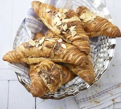 Chocolate & almond croissants